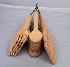 144 Packs Forks Spoons knives Disposable Party Wooden Cutlery Catering