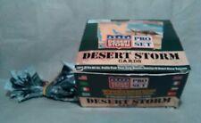 Desert Storm Pro Set Cards