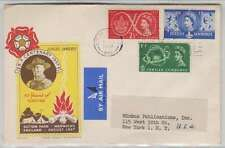B5403: Great Britain #334-336, Fdc, Boy Scout