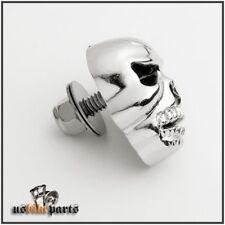 40 mm Totenkopf Skull Kennzeichen Schrauben Harley neu