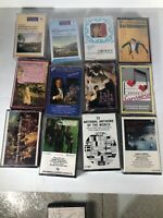 Lot Of 12 Classical Music Audio Cassettes