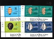 Tokelau 34-37 año 1974 completaett nuevo con goma ori (103289
