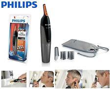 PHILIPS CORDLESS TRIMMER KIT NOSE EAR EYEBROW HAIR GROOMING SET FACIAL NASAL