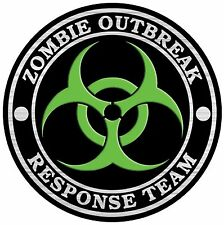 Zombie Outbreak Reponse Team sticker decal 5inch