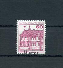 Berlino n. 611a ** pattern scritta 60pfg. Castelli & SERRATURE!!! (111611)