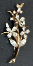 TRIFARI CROWN 1951 PAT PEND#164722 Tree Branch Flower Pin Alfred Philippe VNT#04