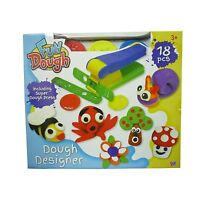 Fun Toy Dough Designer Playing Dough With Accessories & Moulds NEW BOXED