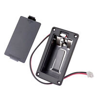 9V Battery Cover Battery Box Case Compartment for Active Guitar Bass Accessories