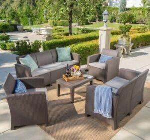 Daytona Outdoor 5-piece set outdoor patio furniture chairs