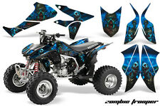 Honda TRX 450R AMR Racing Graphic Kit Wrap Quad Decal ATV 2004-2014 ZOMBIE BLUE