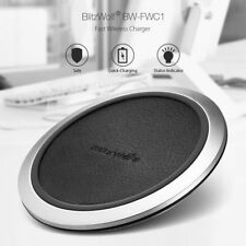 BlitzWolf Fast Charge Qi Wireless Charger for Samsung S7 S8 S9 iPhone X 8