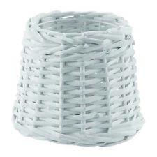 Eglo 1+1 Vintage Lamp Shade E27/E14 - Vintage Bast White