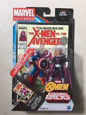 "Marvel Universe 3 3/4"" CAPTAIN AMERICA & MAGNETO Exclusive Action Figure 2 Pack"