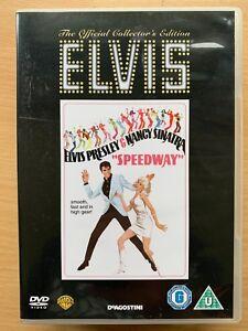 Speedway DVD 1968 Musical Classic DeAgostini w/ Elvis Presley + Nancy Sinatra