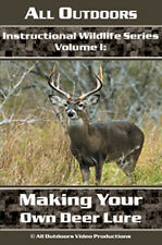 Instructional Wildlife Series Making Your Own Deer Lure by Alan Probst (Dvd)
