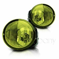 For Frontier Xterra Sentra Maxima Fog Light w/Wiring & COB LED Bulbs - Yellow
