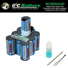 Porter Cable 12 Volt 8620 Battery UPGRADED DIY REPACK KIT | Tenergy 3.0Ah NiMH