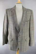 BRITISH MADE MAGEE PURE WOOL DUNEAGLE TWIST CHECKED GREY TWEED JACKET 42 INCH
