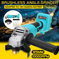 18V 125mm Angle Grinder Cordless Brushless Cutting tool Li-ion Battery Charger