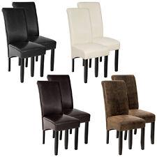 Lot de 2 chaises de salle à manger chaise meuble 105cm bois