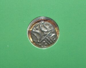 Ancient Iron Age British / Celtic Silver Coin of the Iceni Tribe 13mm