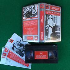 VHS - NOCI DI COCCO (USA 1929 B/N) Fratelli MARX di R.Florey-J.Stanley M&R MR180