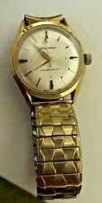 Vintage Waltham Men's Wristwatch Watch Wind Up Works Shock Resistant