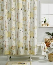 $54 Creative Bath Animal Crackers Cotton Shower Curtain In Natural