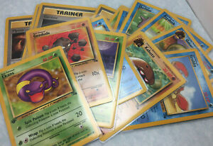 """1999 Wizards Pokemon TCG Fossil 1st Edition Card - Select from """"Styles"""" New"""