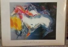 Jean Richardson Wind Chaser Horse Abstract