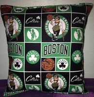 Celtics Pillow Boston Celtics Pillow NBA Handmade in USA