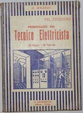 Libro PRONTUARIO DEL TECNICO ELETTRICISTA Ciro Mazzei Lavagnolo Editore