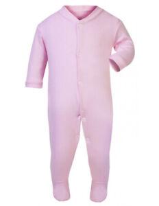 Pink Baby Sleepsuits