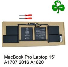 "Battery For Apple MacBook Pro Laptop 15"" A1707 2016 A1820 6667mAh Replacement"