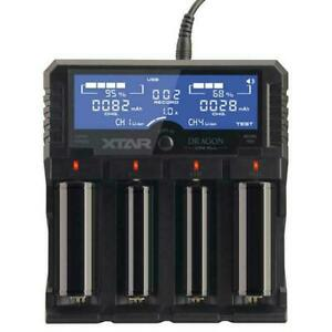 Xtar VP4 Plus Dragon Universal Intelligent Battery Charger 18650 AA AAA 26650