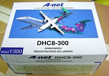 Herpa / Hogan Wings 1:500 DH58005 A-net Japan DHC8-300 HAMANASU JA805K - Model