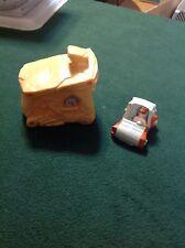 Vintage 1993 Flintstones House and Car from McDonalds