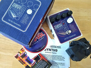 Electro Harmonix Synth 9 Synthesizer Machine Guitar Pedal