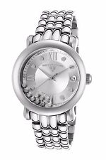Swiss Legend Women's Diamond Quartz Watch Silver Stainless Steel 22388-22S