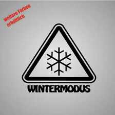 """Aufkleber """" wintermodus schneeflocke """" Sticker Decal Folie Tuning"""