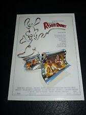 WHO FRAMED ROGER RABBIT?, film card [Bob Hoskins, Christopher Lloyd]
