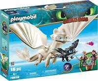 PLAYMOBIL DreamWorks Dragons Tagschatten und Babydrachen mit Kindern ab 4 Jahren