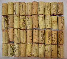 40~Used Natural Wine Corks from Red & White Wines-Different Wineries - 4 Crafts