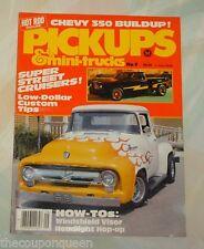 Hot Rod Magazine Pickups & Mini-trucks No. 9 1981