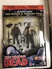 The Walking Dead Action Figure Comic Book Exclusive - Carl & Abraham Bloody