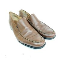 Coach Corbin Brown Loafers Slip-On Shoes Made in Italy Men's 11B