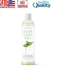 Organic Aloe Vera Gel Great for Face, Hair,Dry Skin Hydration - 12 oz.