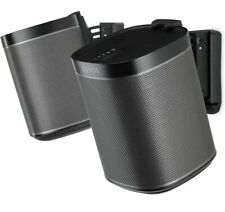 Brand New Flexson Wall Mount for Sonos One, One SL and Play:1 - Black - Pair.