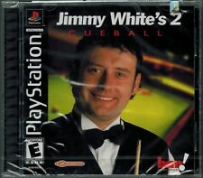Jimmy White's 2: Cue Ball (Sony PlayStation 1, 2000) Factory Sealed
