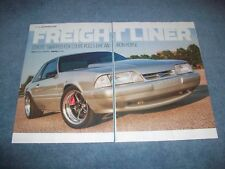 "1991 Mustang LX Coupe RestoMod Article ""Freight Liner"" Coyote Swapped"